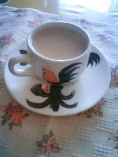 11月10日 ショウガ紅茶